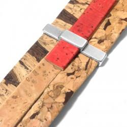 Μεταλλικό Ζάμακ Χυτή Μπάρα Περαστή 6x33mm (Ø30.2x2.5mm)
