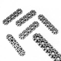 Zamak Spacer with 5 Holes 4x16mm (Ø 1.2mm)