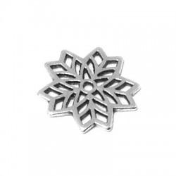 Zamak Charm Flower 16mm
