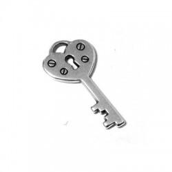 Zamak Charm Key 12x21mm