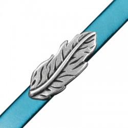 Zamak Slider Feather 35x14mm (Ø 10.2x2.2mm)