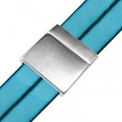 Zamak Magnetic Clasp Plain 24mm (Ø 20.2x2.2mm)