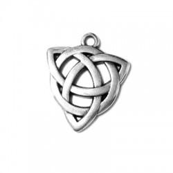 Zamak Pendant Celtic Symbol Triangle 20mm
