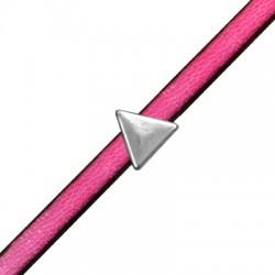 Μεταλλικό Ζάμακ Χυτό Στοιχείο Τρίγωνο Περαστό 10mm (Ø5x2mm)