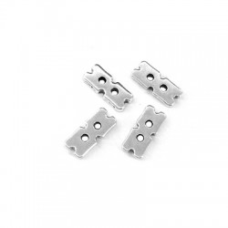 Zamak Connector 13x6mm (Ø 1.2mm)