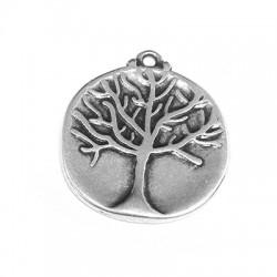 Μεταλλικό Ζάμακ Χυτό Μοτίφ Δέντρο Ζωής 23mm