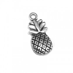 Zamak Charm Pinneapple 9x16mm
