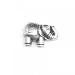 Zamak Slider Elephant 13x9mm (Ø 1.6mm)