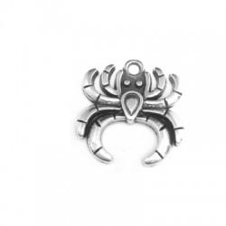 Zamak Charm Spider 18x16mm