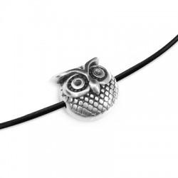 Zamak Slider Owl 11mm (Ø 1.5mm)