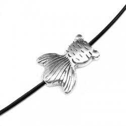 Zamak Slider Fish Tail 11x14mm (Ø 1.4mm)