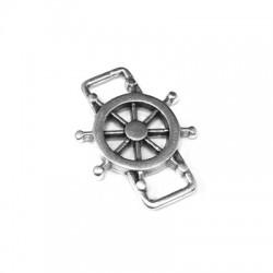 Zamak Connector Boat Wheel 24x18mm