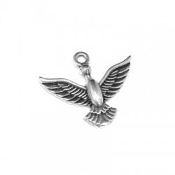 Zamak Charm Bird 20x14mm