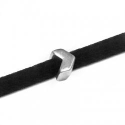 Μεταλλικό Ζάμακ Στοιχείο Βέλος Περαστό 6x4mm (Ø3.2x2.2mm)