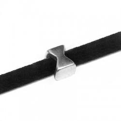 Passante in Zama Clessidra 6x4mm (Ø3.2x2.2mm)