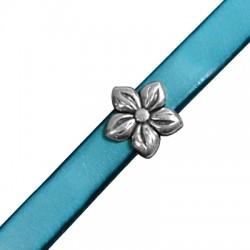 Μεταλλικό Ζάμακ Στοιχείο Λουλούδι Περαστό 16mm (Ø10.2x2.2mm)