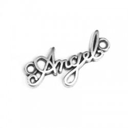 Μεταλλικό Ζάμακ Χυτό Στοιχείο ''Angel'' για Μακραμέ 10x21mm