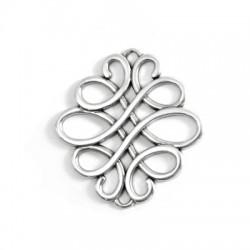 Zamak Pendant Celtic Symbol 50x46mm