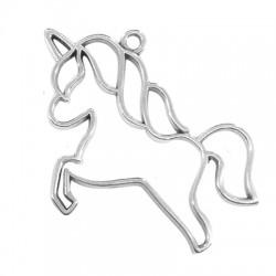 Zamak Pendant Unicorn 56x47mm