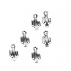 Zamak Charm Cactus 7x12mm