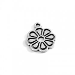 Zamak Charm Flower 14mm