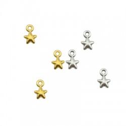 Breloque étoile en Métal/Zamak 5mm