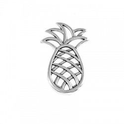 Zamak Pendant Pineapple 27x40mm