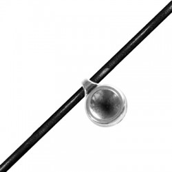 Pendentif rond en Métal/Zamak 11mm (Ø 2,0mm) avec support pour SS39