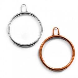 Μεταλλικό Ζάμακ Χυτό Μοτίφ Κύκλος 47mm
