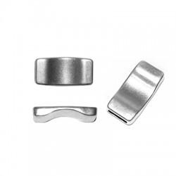 Zamak Flat Bar for Bracelets 30x15mm (Ø 10.2x2.2mm)
