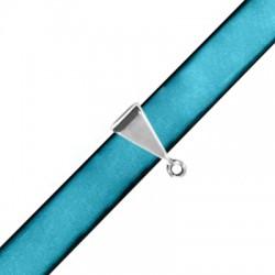 Zamak Slider Triangle Bail 7x12mm (Ø 10.2x2.2mm)