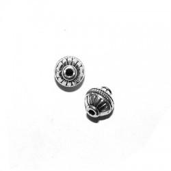 Perlina in Zama 9x10mm (Ø 1.8mm)