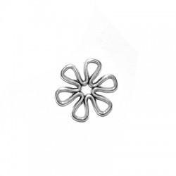Μεταλλικό Ζάμακ Χυτό Στοιχείο Λουλούδι για Μακραμέ 14mm