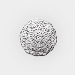 Zamak Pendant Flower 31mm