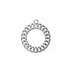 Μεταλλικό Ζάμακ Χυτό Μοτίφ Κύκλος Αλυσίδα 29mm
