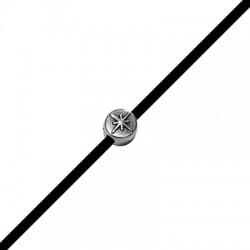 Zamak Slider Round Star 7x4.6mm (Ø 2.2mm)