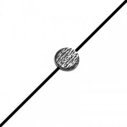 Zamak Slider Bead Flatened 12mm (Ø 1.8mm)