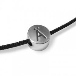 Zamak Slider Letter Round Ä (Umlaut) 7/4.4mm (Ø 2mm)