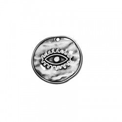 Μεταλλικό Ζάμακ Χυτό Μοτίφ Στρογγυλό Μάτι 28mm