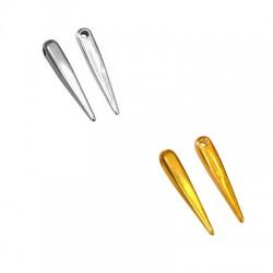 Ciondolo in Zama Dente 4.5x25mm (Ø 2mm)