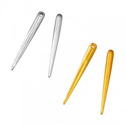 Zamak Pendant Tooth 4.5x39mm (Ø 2mm)