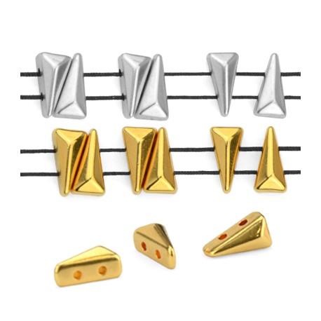 Μεταλλικό Ζάμακ Χυτό Στοιχείο Περαστό 5x8mm/4mm (Ø1mm)