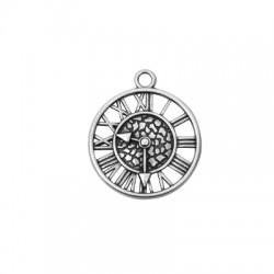 Μεταλλικό Ζάμακ Χυτό Μοτίφ Στρογγυλό Ρολόι 29mm