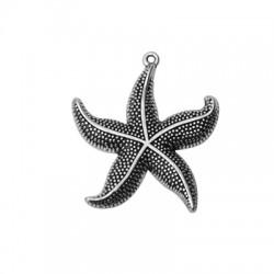 Zamak Pendant Starfish 44x46mm