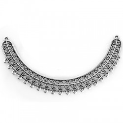 Zamak Pendant Bar for Necklace 104x15mm