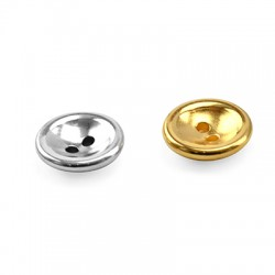 Zamak Button Round 12mm/3.5mm (Ø1.3mm)