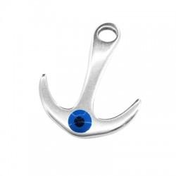 Metal Zamak Cast Connector Anchor with Enamel Eye 35x25mm (Ø 5mm)