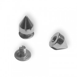 Z/A Stud Pyramid w/screw 7x8mm
