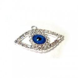 Rhinestone Eye 22x34mm