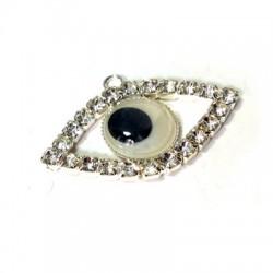 Rhinestone Eye 22x33mm